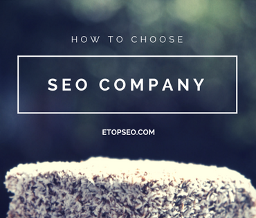 How to choose SEO company